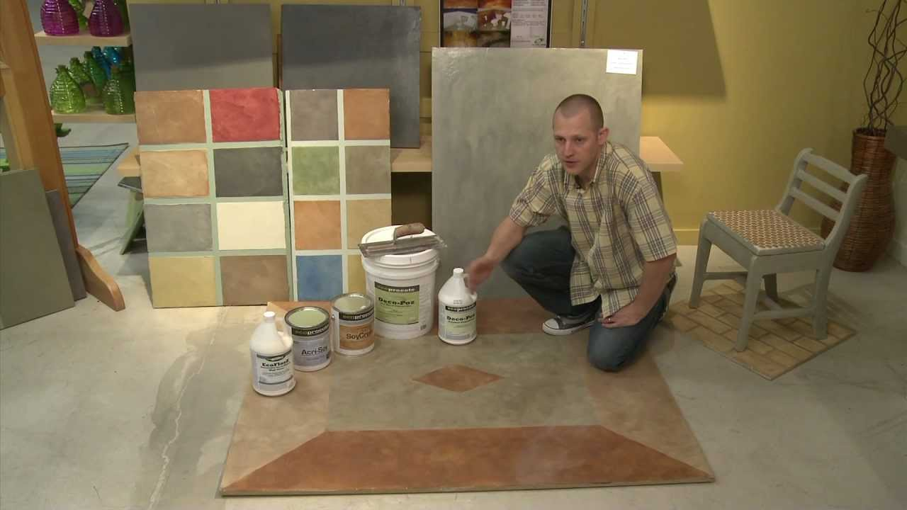 Stained Concrete - Austin, TX - YouTube
