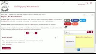 TMC Audio Introduction Video