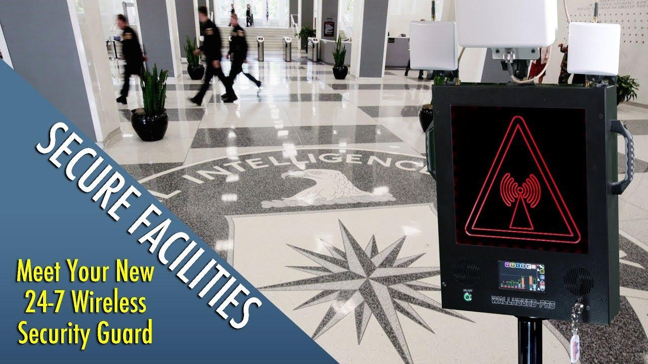 WallHound-Pro Wireless Detection and Deterrent Alert (Teaser)