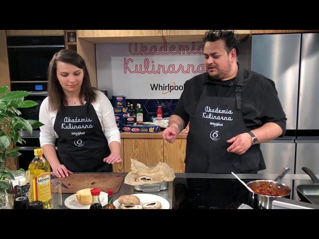 Gotowanie w Akademii Kulinarnej Whirlpool – Kuba Kordyś & Milena