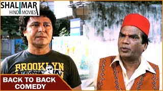 Santray Hyderabadi Movie || Back To Back Comedy Scenes Part 02 || Mast Ali, Tanya || Shalimar Hindi