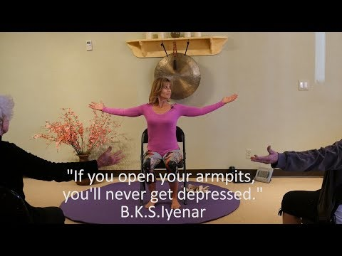 Yoga for Depression & Anxiety - Why it Works with Sherry Zak Morris