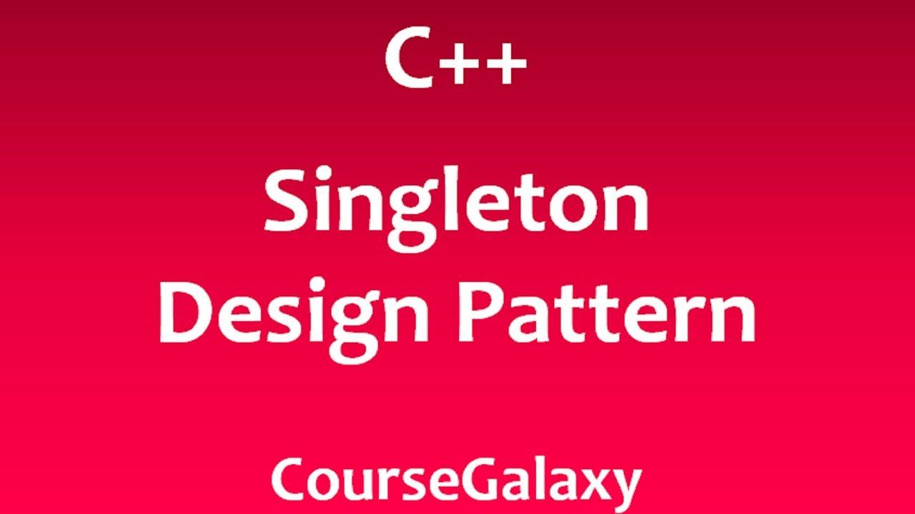 Singleton Pattern C Interesting Decoration