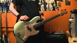 Blink 182 Stay Together For The Kids Bass Cover On New Fender Mark Hoppus Bass 2011