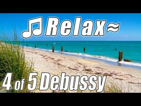 Clair de Lune  DEBUSSY, Classical Music #4 Piano Instrumental Moonlight HD Twilight Romantic slow