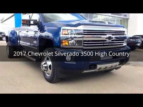 2017 Chevrolet Silverado 3500 High Country 163959