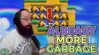 MORE HOT GARBAGE ALREADY! | Super Mario Maker 2 - Expert No Skip Challenge For 1000 Clears [4]