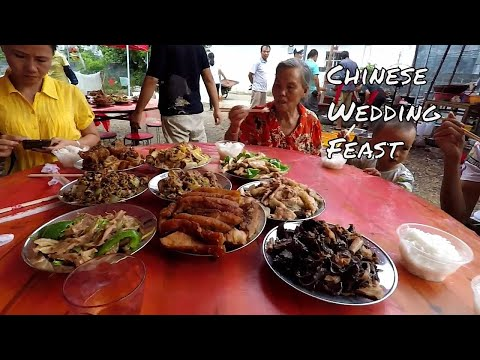 Chinese MARRIAGE FEAST in Yulin China and no DOG MEAT