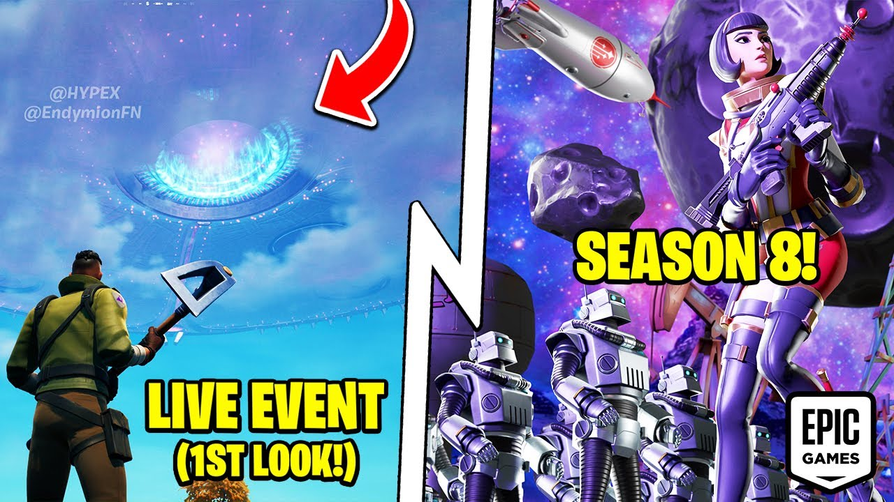 Epic Leaked NEW Battle Pass & Theme, Live Event Gameplay, Update!
