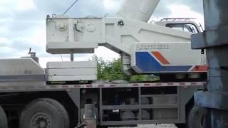 Кран Zoomlion QY80V вешает противовес 8,5 тонн(, 2014-12-21T19:34:36.000Z)