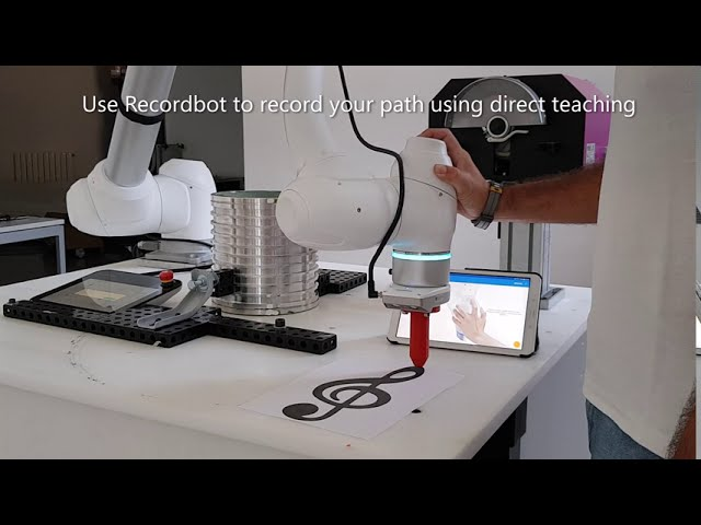 Homberger Hub - Recordbot in now integrated with Doosan Smart Vision Camera