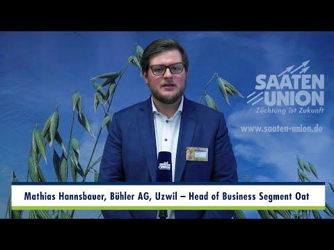 Haferkongress 2020   Interview M. Hannsbauer, Bereichsleiter Hafer, Bühler AG, Uzwil