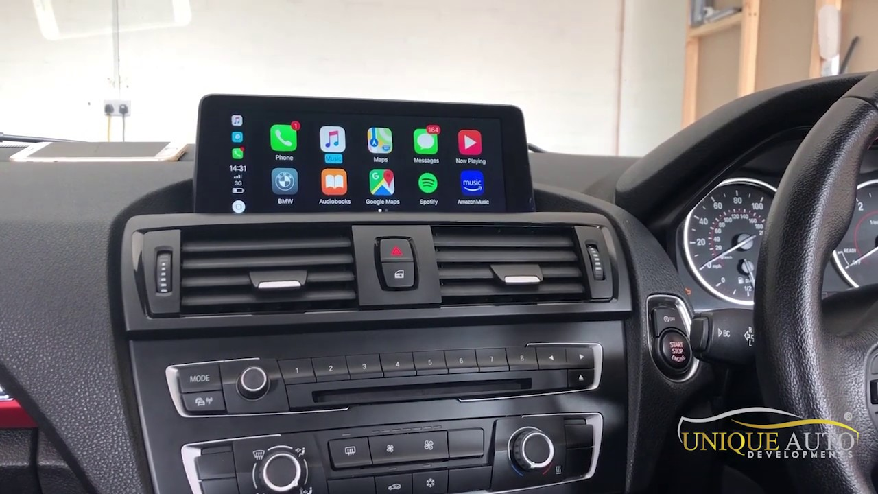 WIRELESS CARPLAY BMW NBT Widescreen 8 8/10 2