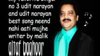 Neend nahi aati mujhe udit narayan my favorite singer no 3 altaf baghoor