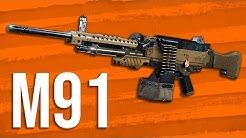 Modern Warfare In Depth: M91 LMG Review