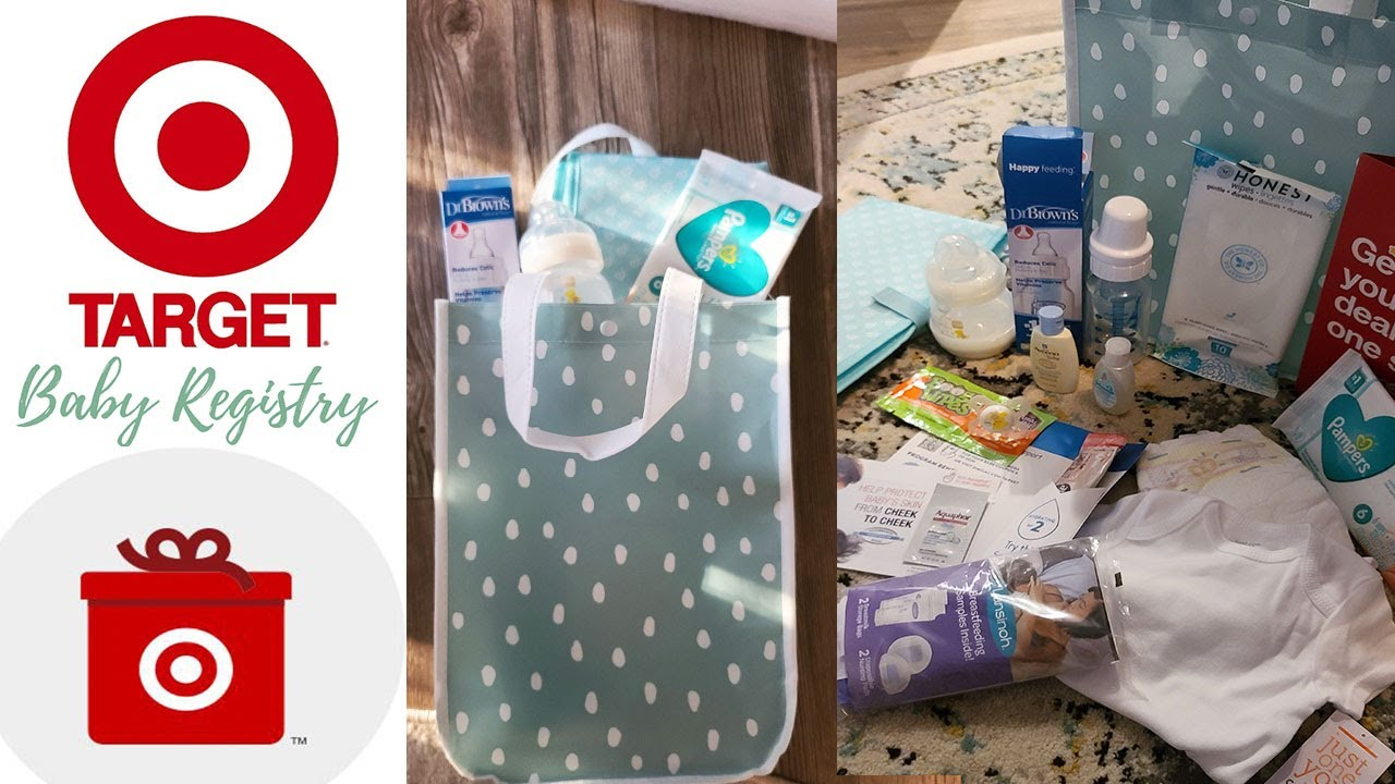 Target Baby Registry Free Welcome Kit May 2020 Free Baby Stuff Youtube