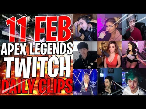 APEX LEGENDS 11 FEB TWITCH BEST CLIPS! -Apex Daily Moments & Apex Legends Funny Moments #59