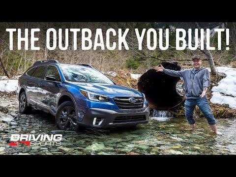 2020 Subaru Outback Onyx XT First Off-Road Adventure