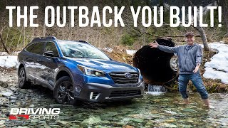 2020 Subaru Outback Onyx XT First Off-Road Adventure