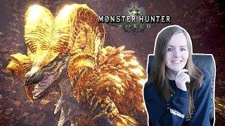 WE BEAT KULVE TAROTH! | Monster Hunter World - Kulve Taroth Siege Gameplay