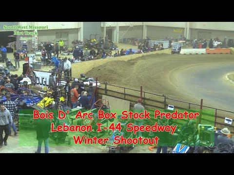 Bois D' Arc Box Stock Predator- I-44 Speedway Winter Shootout 1-19-2018