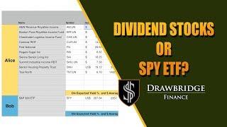 SPY ETF or High Yield Dividend Stock Portfolio