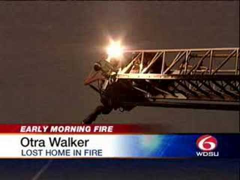 4-Alarm Fire Burns New Orleans Homes