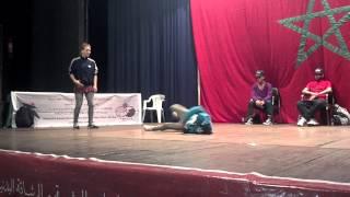 Battle BMB Morocco - Bgirl Nuna (Morocco) Vs Bgirl Frost (Germany)