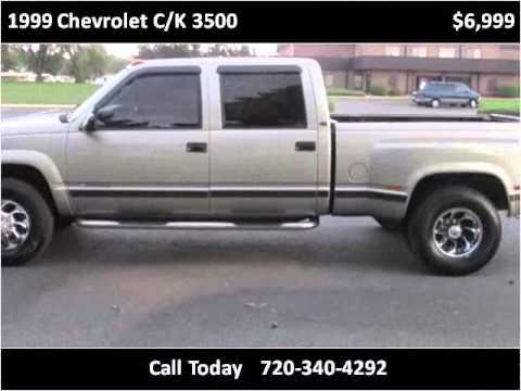 1999 chevrolet c k 3500 used cars longmont co youtube for Victory motors trucks longmont