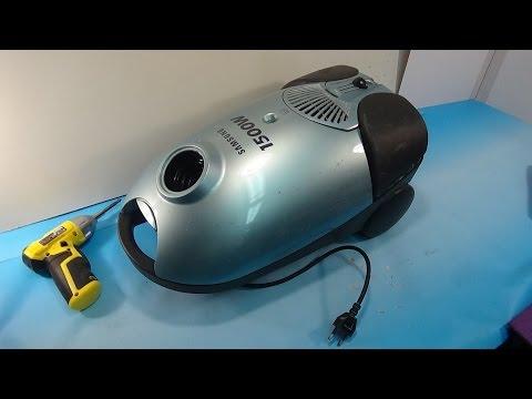 Разборка и ремонт пылесоса Samsung VC 6015V