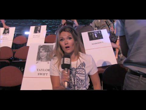 Man Down!!! -  MTV VMA's 2014  - bloopers