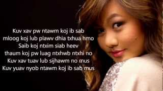 Repeat youtube video [HD] Kristine Xiong Lub Sijhawm with Lyrics