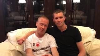 Видеообращение актеров сериала на ТНТ Реальные пацаны к футболистам Кристалл-Бердск