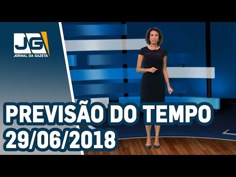 Previsão do Tempo - 29/06/2018