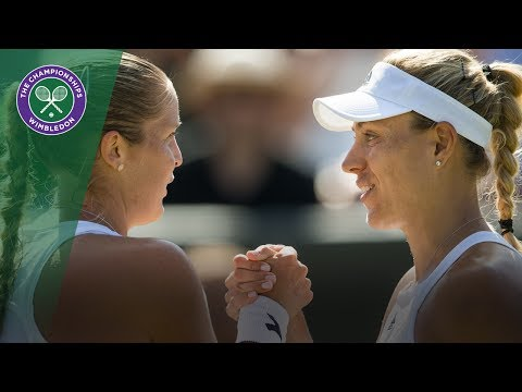 Angelique Kerber v Shelby Rogers highlights - Wimbledon 2017 third round
