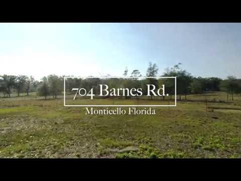 704 Barnes Rd.  Monticello, Florida