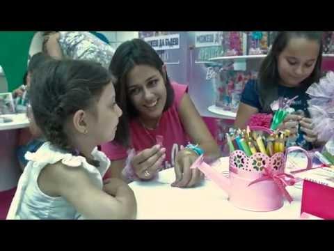 Можеш да бъдеш каквото пожелаеш с Barbie в Paradise Center