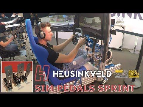 Heusinkveld Sprint Pedals + Sim Rig GT Simulator - SimRacing