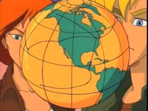 Where on Earth is Carmen Sandiego? Cartoon Intro
