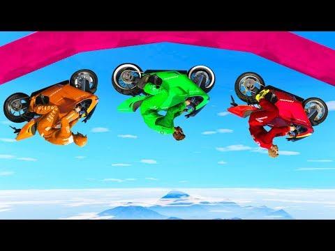 WORLD'S HARDEST GRAVITY SKILL TEST! (GTA 5 Races)