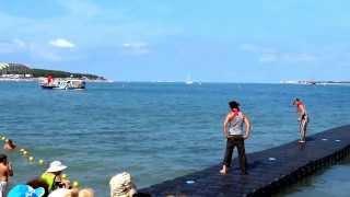 Геленджик праздник на воде в честь ВМФ.