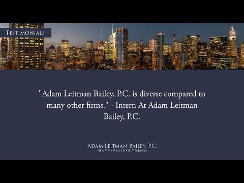 """""""Adam Leitman Bailey, P.C. is diverse compared to many other firms."""""""
