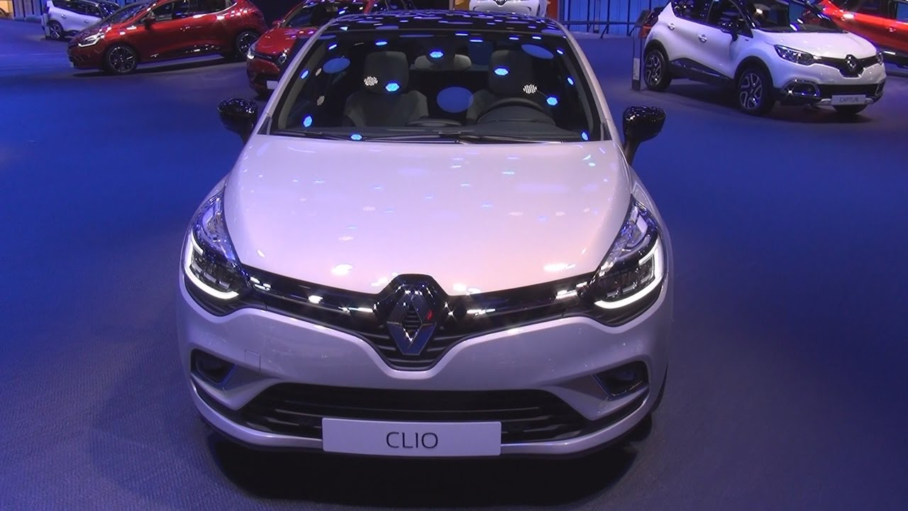 renault clio initiale paris energy dci 90 edc 2017 exterior and interior in 3d youtube. Black Bedroom Furniture Sets. Home Design Ideas