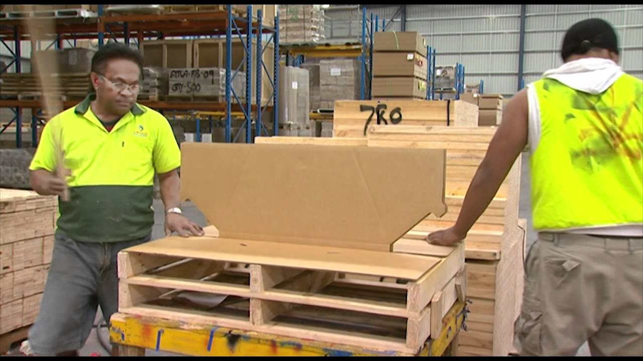 Cardboard Pallets In Sydney Check Out These Combination Cardboard And Timber Pallets