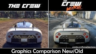 The Crew Wild Run vs. The Crew | Graphics Comparison, Rain & Weather, Gameplay Old vs. New (PS4)