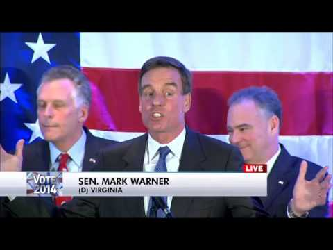 Mark Warner declares victory in Virginia Senate race