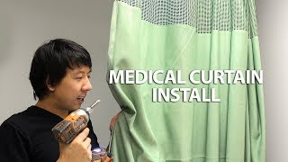HOW TO INSTALL PRIVACY MEDICAL CURTAIN | Portable Room Dividers