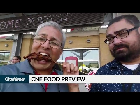 See what's tickling the taste buds at the CNE this year