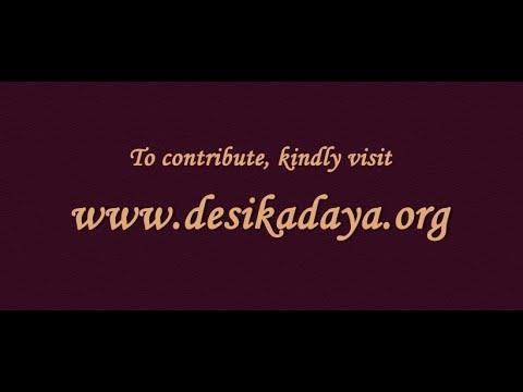 Vedanta Desika 750 Sri Rama Charama Shlokam by Sri.Dushyanth Sridhar