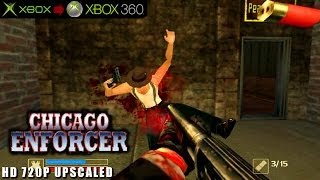 Chicago Enforcer - Gameplay Xbox HD 720P (Xbox to Xbox 360)